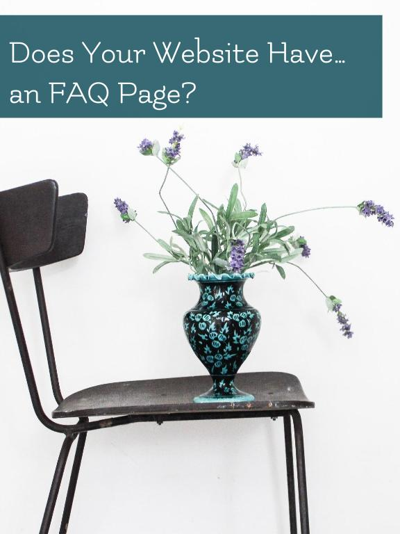 What the heck are you supposed to write on an FAQ page anyway?